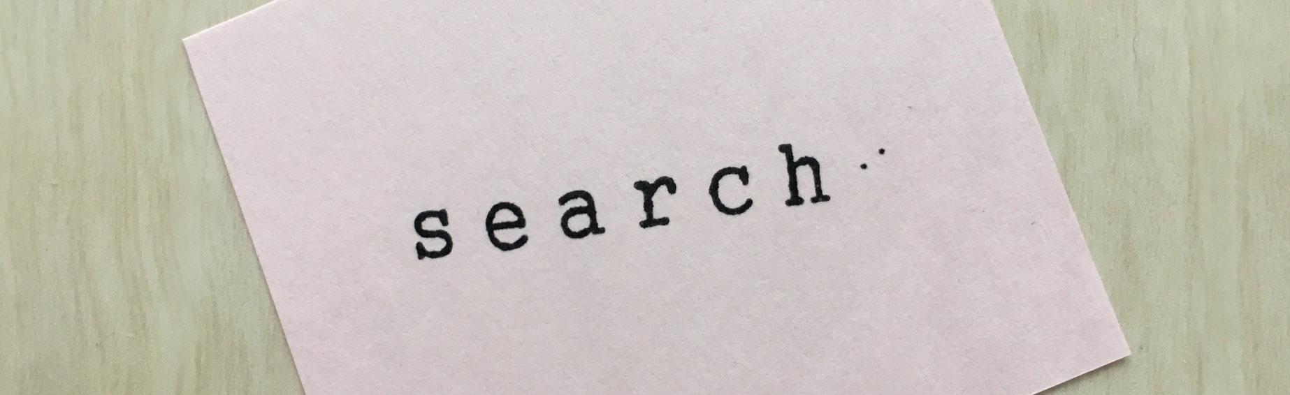 検索キーワードを見直す